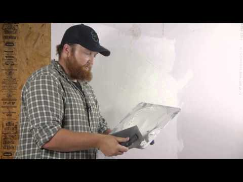 How to Skim Coat a Wall After Wallpaper Removal : Walls & Paneling