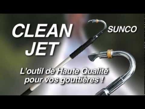Cleanjet Le Nettoyeur De Goutiere T L Scopique Haute Pression R Volutionnaire Youtube