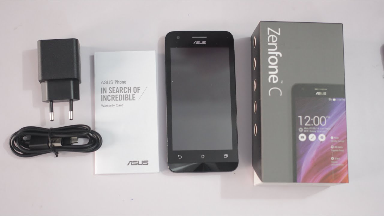 Asus Zenfone C Unboxing  U0026 Hands On
