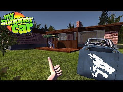 My Summer Car - NEW HOUSE