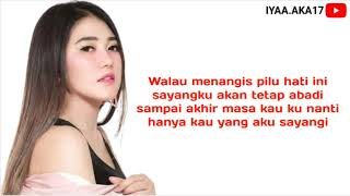 Gambar cover Via Vallen - Satu Hati Sampai Mati ( Official Lyrics Video )