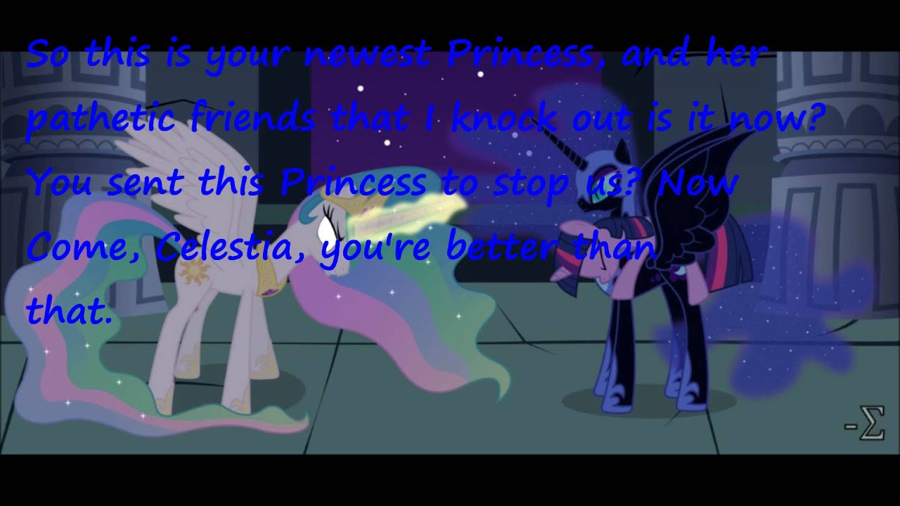 PRINCESS TWILIGHT KIDNAPPED AND TURN INTO EVIL! Episode One