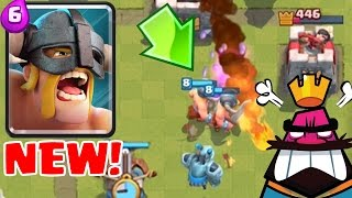 ELITE BARBARIANS TROLL DECK | Clash Royale | Clone Spell Coming Soon!