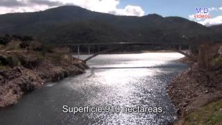 Embalse del Burguillo, rio Alberche, Avila ( video de naturaleza )