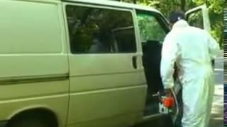 Атака клоунов  Маньяк на дороге