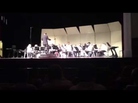 Dover air force base middle school band 2012