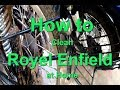 How to Clean Royel Enfield at Home / wash your bike at home/Enfield Cleaning TIPs