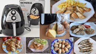 7 recetas sin aceite en freidora AIR MONDIAL fáciles y deliciosas