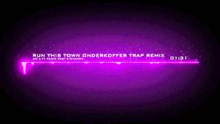 Repeat youtube video Jay Z ft Kanye West & Rihanna - Run This Town Onderkoffer Trap Remix (Remake By AczenTH)