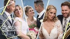 Überblick: Die schönsten Momente aller Paare | Hochzeit auf den ersten Blick | SAT.1