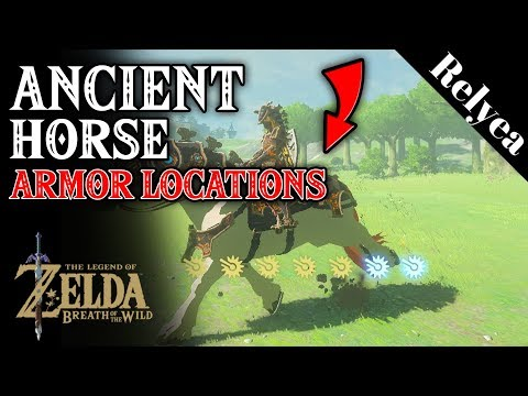 EX Ancient Horse Rumors  Ancient Bridle and Saddle Location in Breath of the Wild