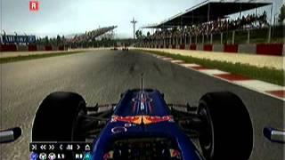 PS3 F1 2010キャリア3年目 スペインGP決勝