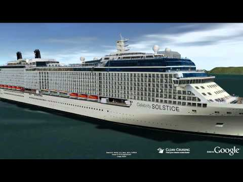 Celebrity solstice aqua class video