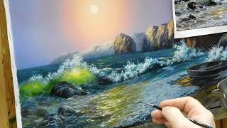 Пишем море