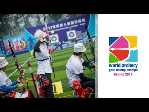 Full session: Recurve Finals | Beijing 2017 World Archery Para Championships