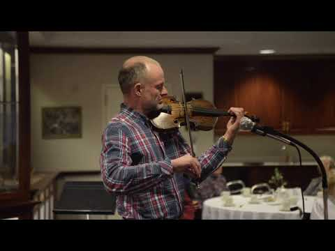 Alistair McCulloch plays on Gregg Violin