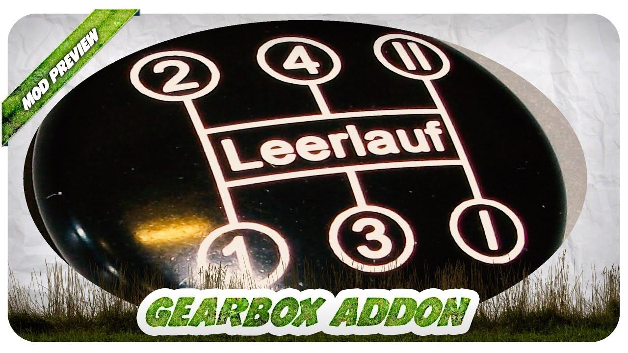 Heute Schon Verschalten Danke Biedens Gearbox Addon Mod