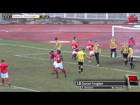 Tor: Dresdner SC 1898 5:5 Post SV Dresden