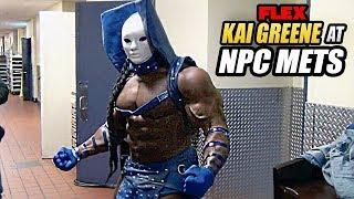 Kai Greene Guest Posing At The 2015 NPC METS