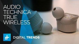 Audio Technica True Wireless In Ear Headphones - Hands On at IFA 2018