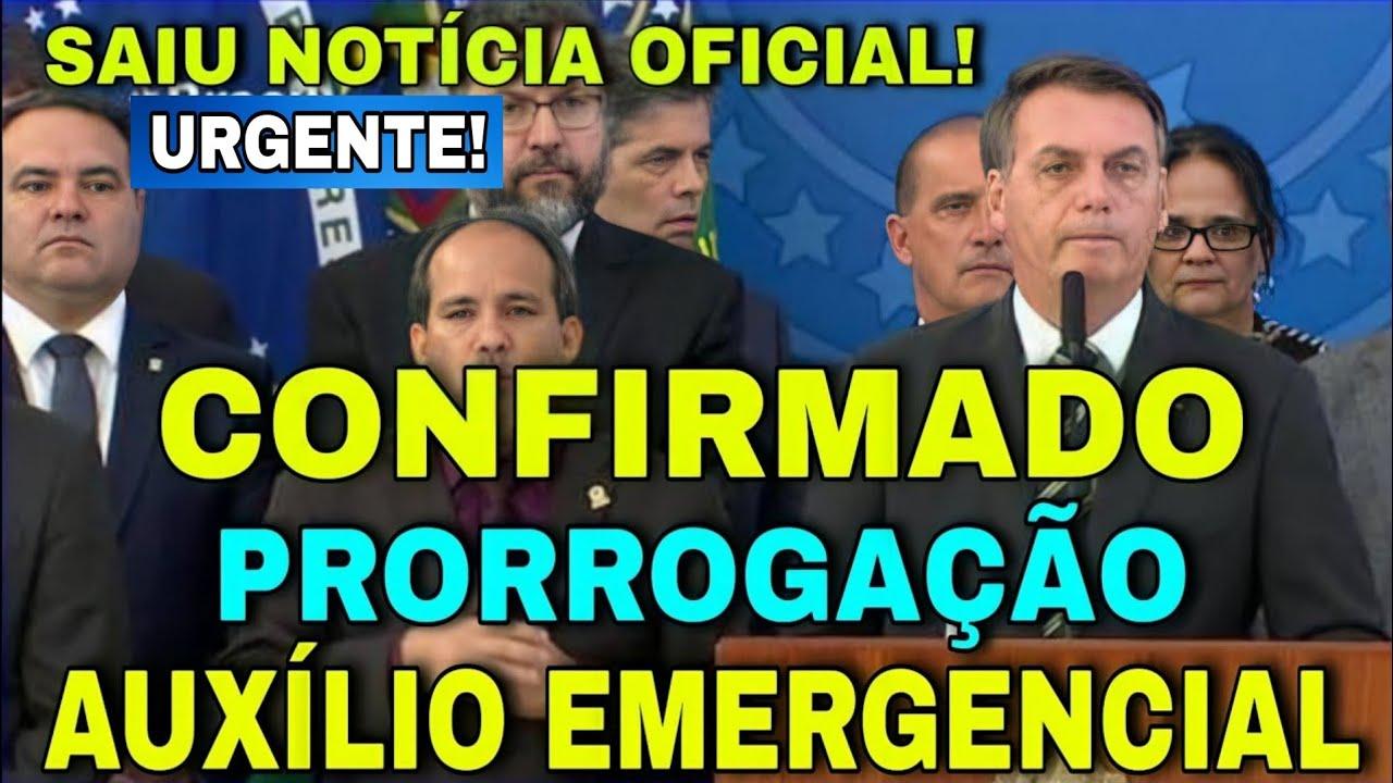 Download 🔴atenção🔴 Notícia Oficial da Prorrogacão do auxílio Emergencial Informações Exclusiva no canal