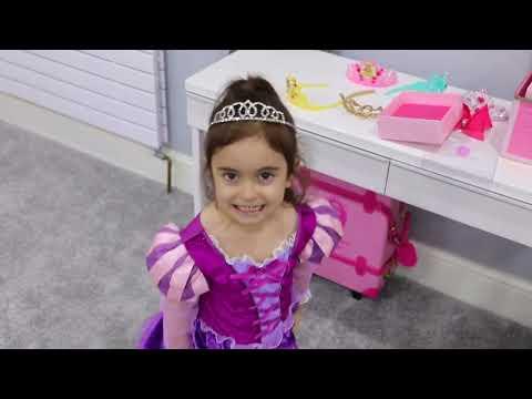 Princess Dressess Transform Emily into a Princess Compilation