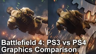 Battlefield 4: PS3 vs. PS4 Campaign Graphics Comparison