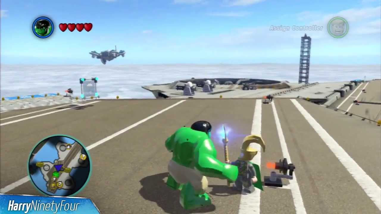 LEGO Marvel Super Heroes Achievement Guide & Road Map