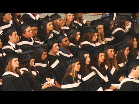 University of New Brunswick 2015 Encaenia -  Ceremony B