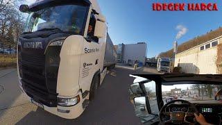 A kamionos egy napja. Harc az idővel. A való világ