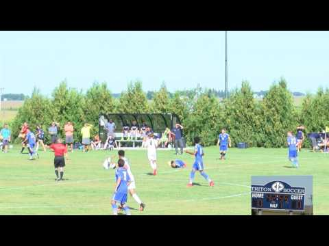 Men's Soccer: Iowa Central vs Iowa Lakes (8/31/2016)