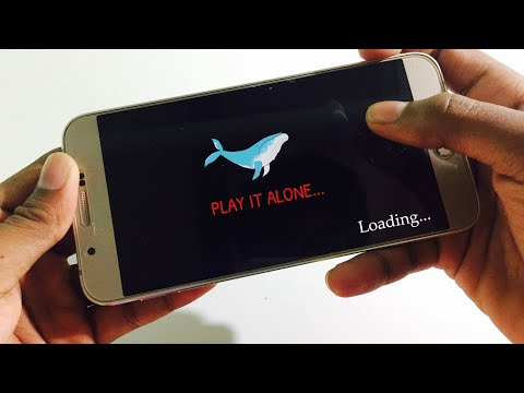 Blue Whale game - Walkthrough Gameplay !!