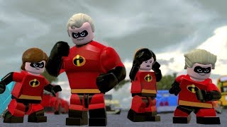 LEGO The Incredibles Part 1 - The Underminer (Incredibles 2)