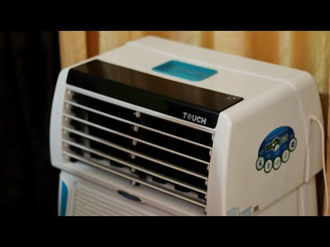 Symphony Touch 35 Litre Air Cooler (White) - with Remote Control and i-Pure Technology  Best Cooler