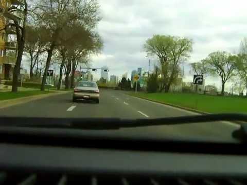 A drive in Edmonton Alberta