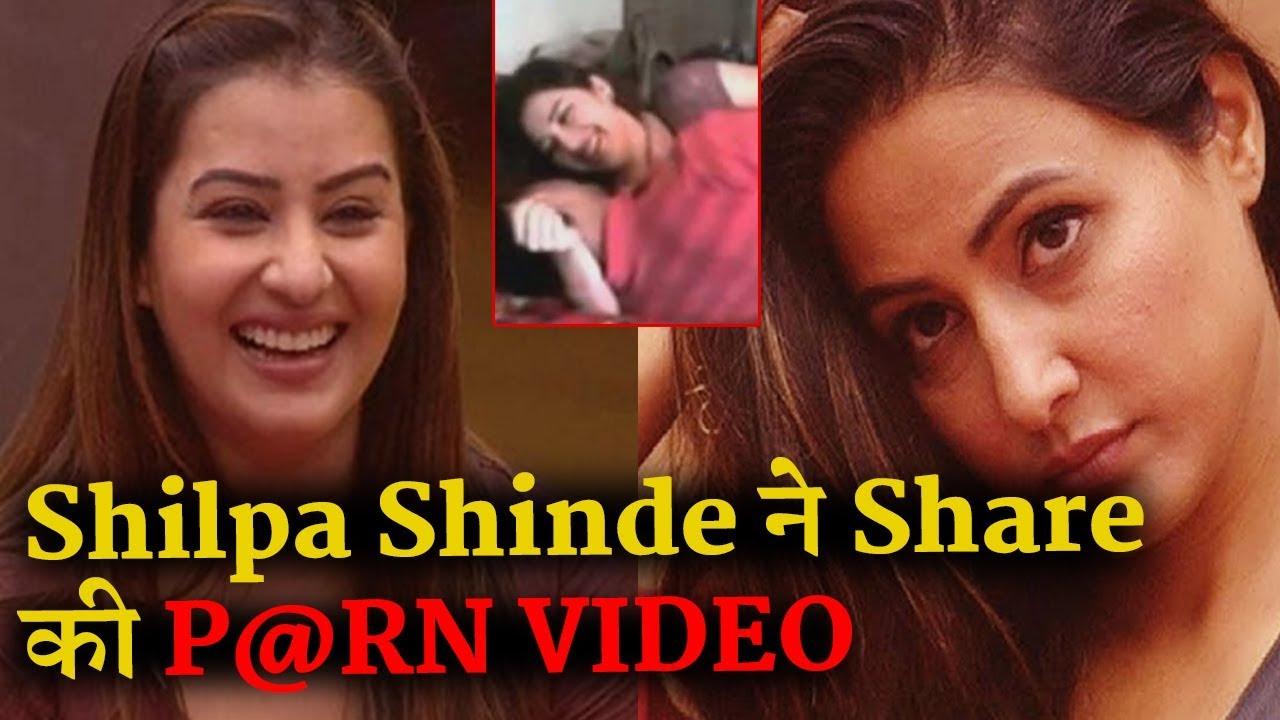 Omg  Shilpa Shinde Shares Porn Website Link On Her -3315