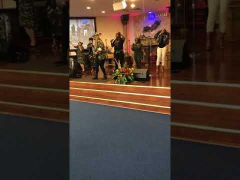Trenesa McCaskill Singing Bless The Lord