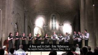 antioch chamber ensemble a boy and a girl eric whitacre