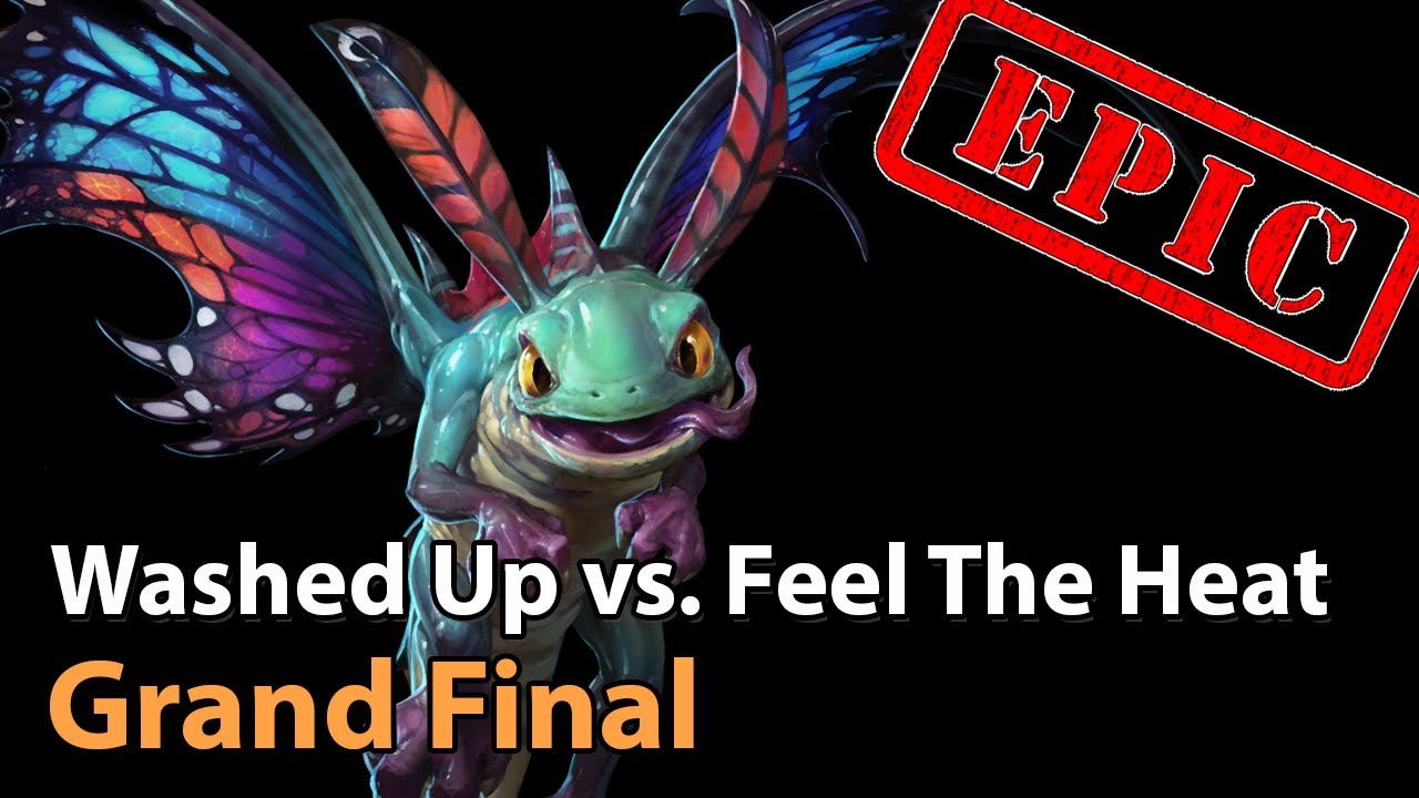 ► Washed Up vs. Feel the Heat - Grand Final - Panda Cup Q2 - Heroes of the Storm Esports