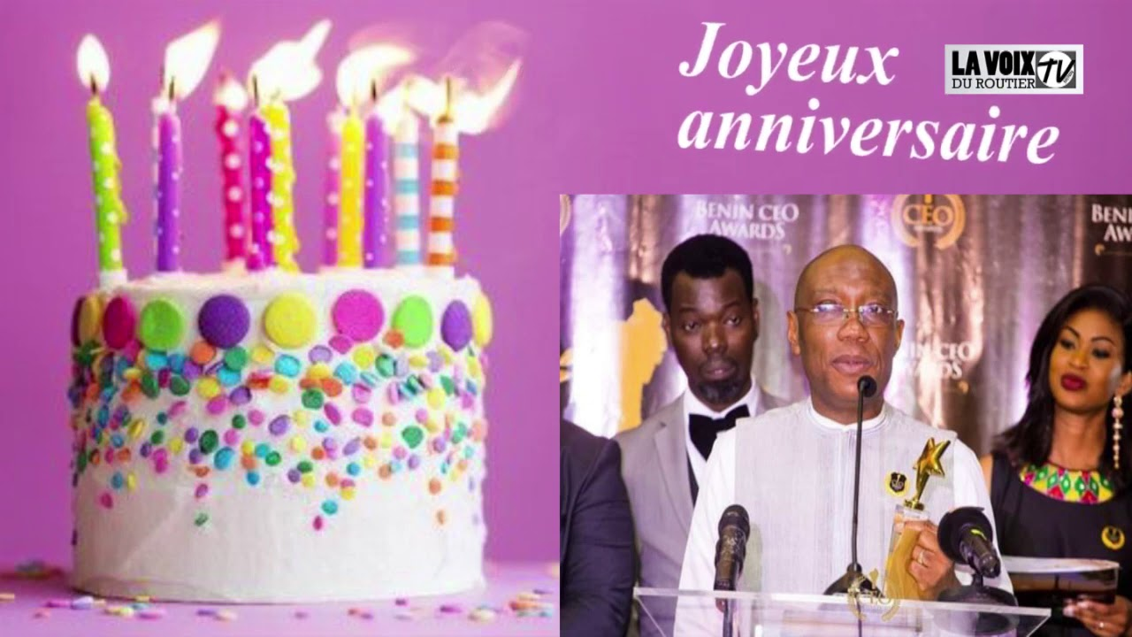 HBD m Charlemagne Andoche AMOUSSOU