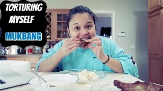 MUKBANG - my mouth is on fire TORTURE talaga ( Filipina Food )