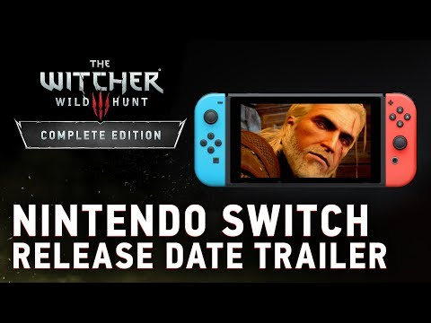 The Witcher 3's Nintendo Switch port arrives on October 15