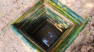 Primitive Tool : searching for groundwater (water well)