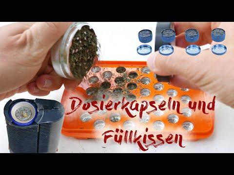 Dosierkapseln und Tropfkissen für Storz und Bickel Vaporizer