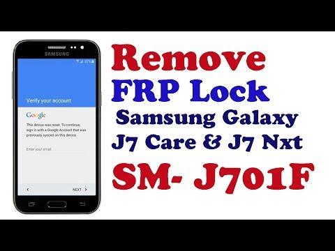 Bypass FRP Lock From Samsung Galaxy J7 Core & J7 Nxt SM