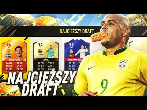 936kg WAGI!! NAJCIĘŻSZY DRAFT FIFA 17!