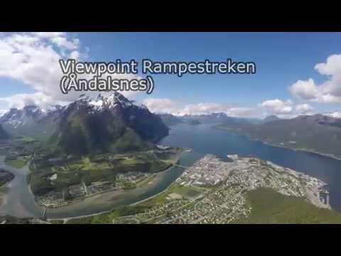 Rampestreken - amazing viewpoint in Andalsnes (Norway)