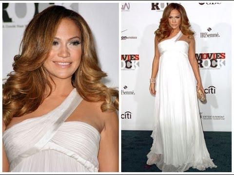 Vestidos de fiesta para embarazadas famosas