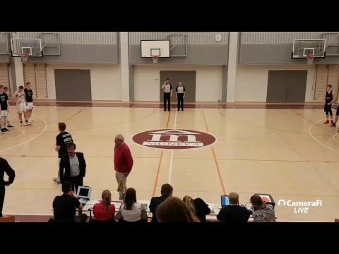 Koripallo A-pojat SM 1. Loppuottelu MuKi - ROCKS