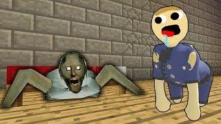 Гренни пластилиновый человечек напугал Коп Нуб в Пластилиновый Мир ! Как сделать портал в Майнкрафт